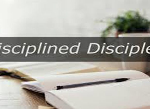 Disciplined Disciples